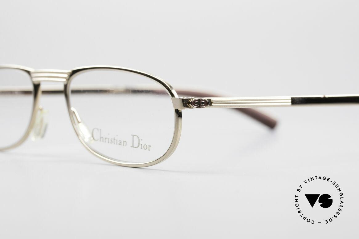 Christian Dior 2727 Vintage Designer Lesebrille, originelles & massives Original-Etui aus Metall, Passend für Herren