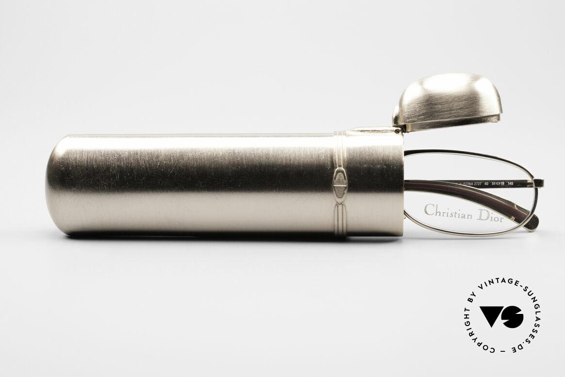 Christian Dior 2727 Vintage Designer Lesebrille, Größe: small, Passend für Herren