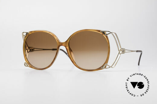 Christian Dior 2616 80er Damen Sonnenbrille XXL Details
