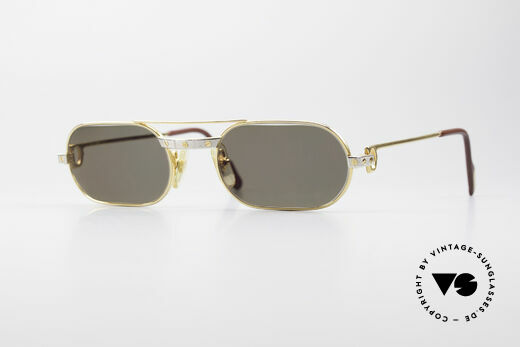 Cartier MUST Santos - S Elton John Sonnenbrille Details