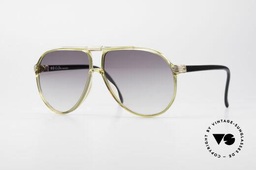 Christian Dior 2300 80er Optyl Sonnenbrille Details