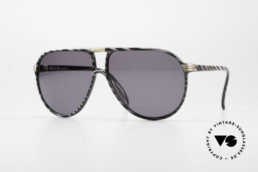 Christian Dior 2300 80er Monsieur Sonnenbrille Details