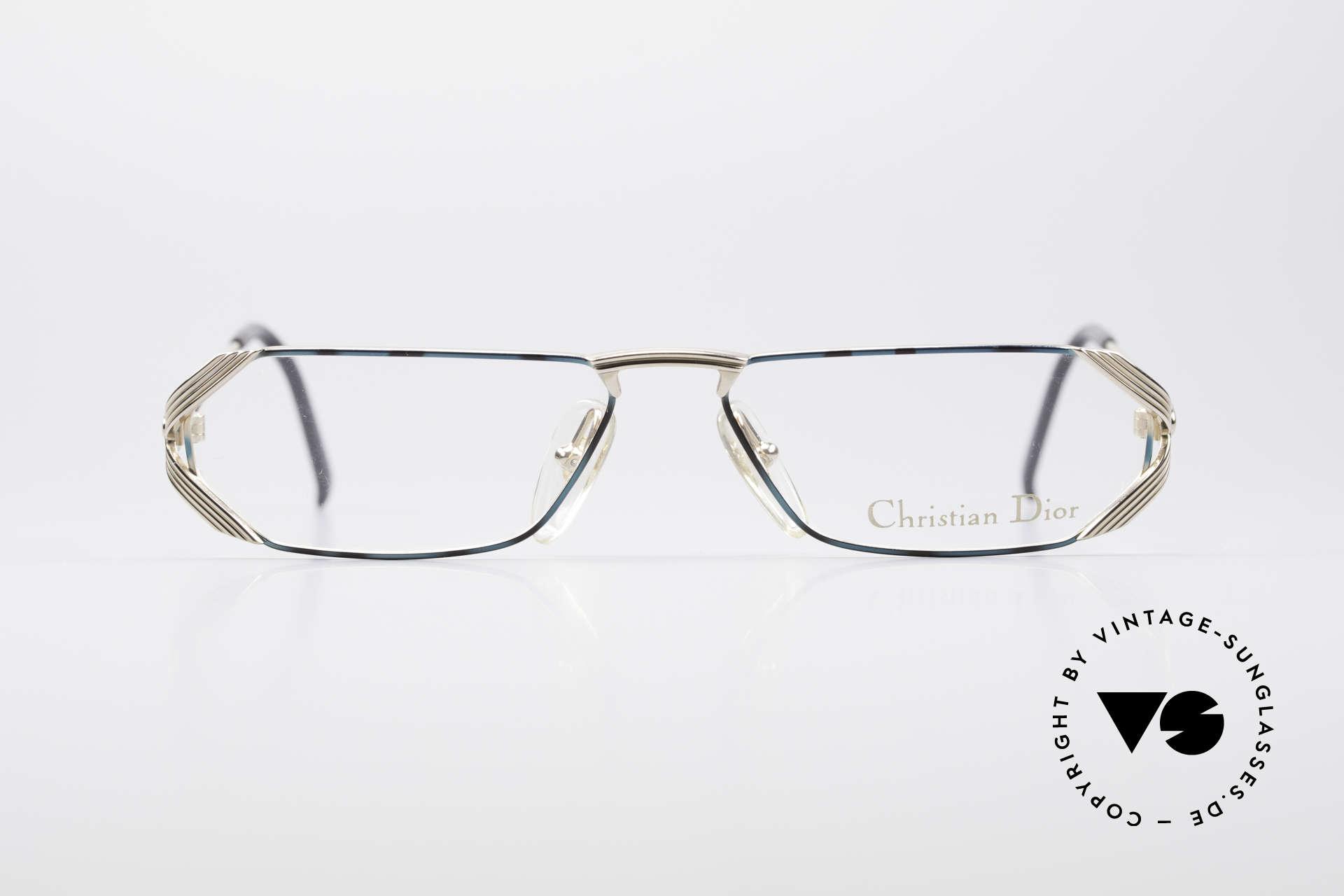 Christian Dior 2617 Vintage Lesebrille 90er, markantes Design & elegante Farbgestaltung, Passend für Herren