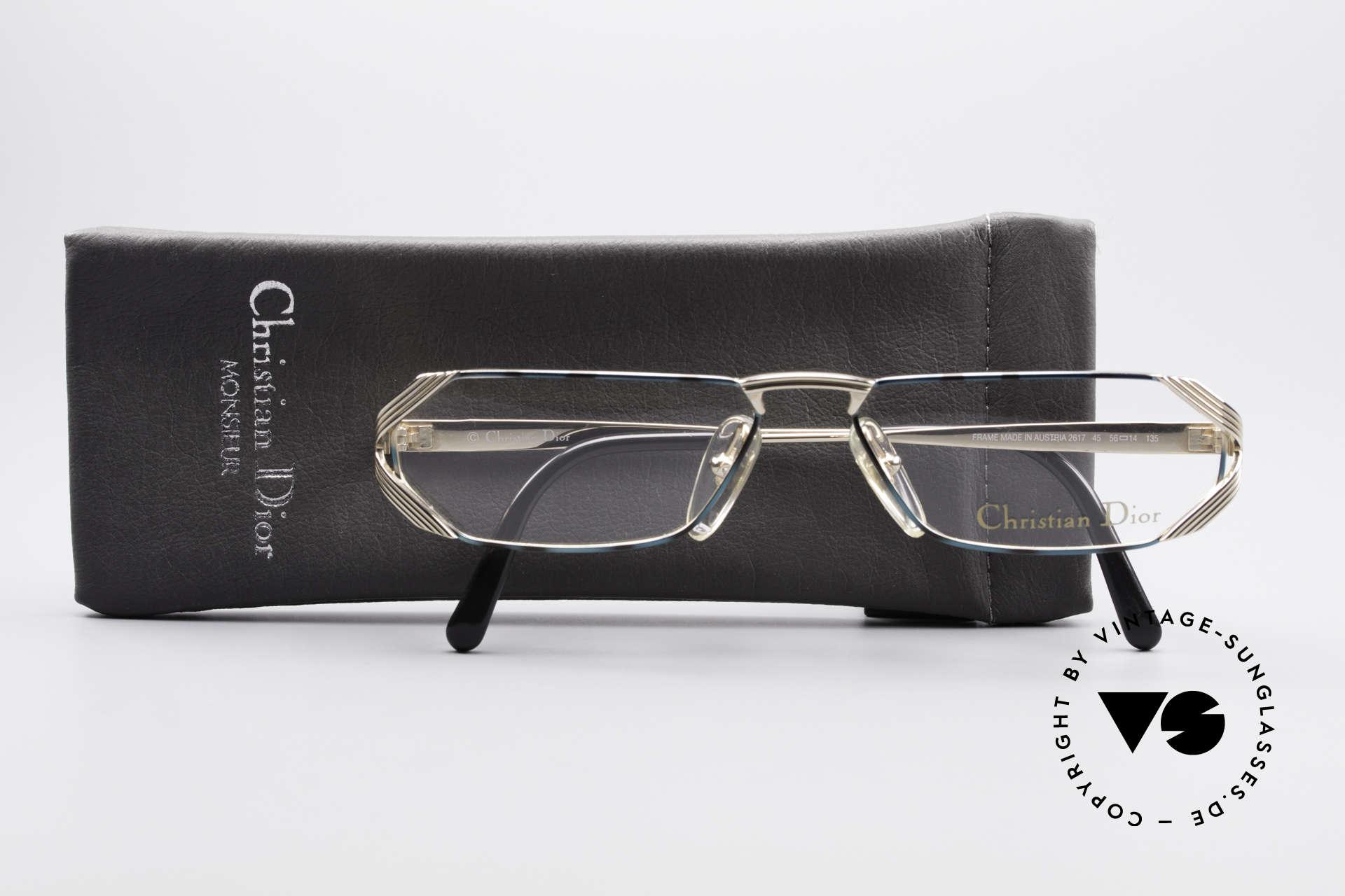 Christian Dior 2617 Vintage Lesebrille 90er, KEINE Retrobrille, sondern ein altes Original, Passend für Herren