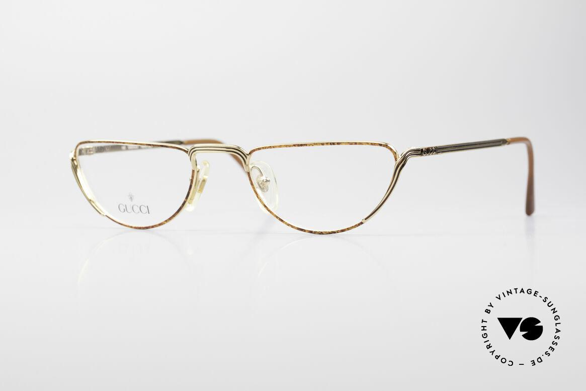 Gucci 2203 Vintage Lesebrille 80er, vintage Designer-Lesebrille von Gucci aus den 80ern, Passend für Herren und Damen