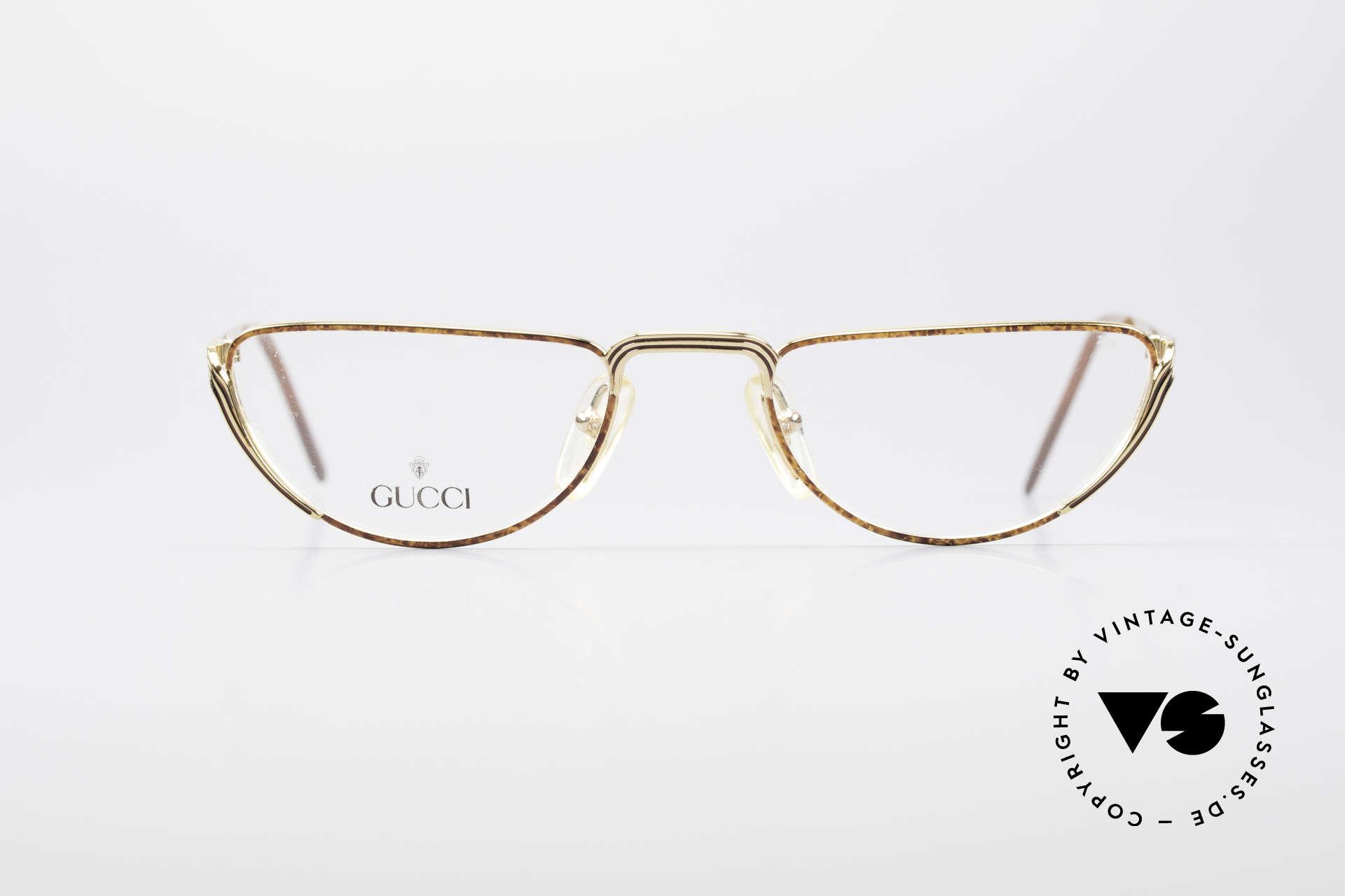 Gucci 2203 Vintage Lesebrille 80er, absolute Rarität in Top-Qualität inkl. Etui von Gucci, Passend für Herren und Damen
