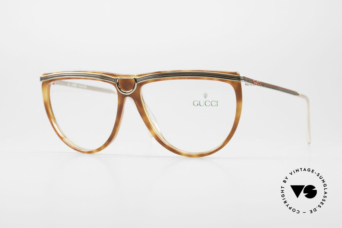 Gucci 2303 Vintage Damenbrille 80er, sehr elegante vintage Designer-Fassung von Gucci, Passend für Damen