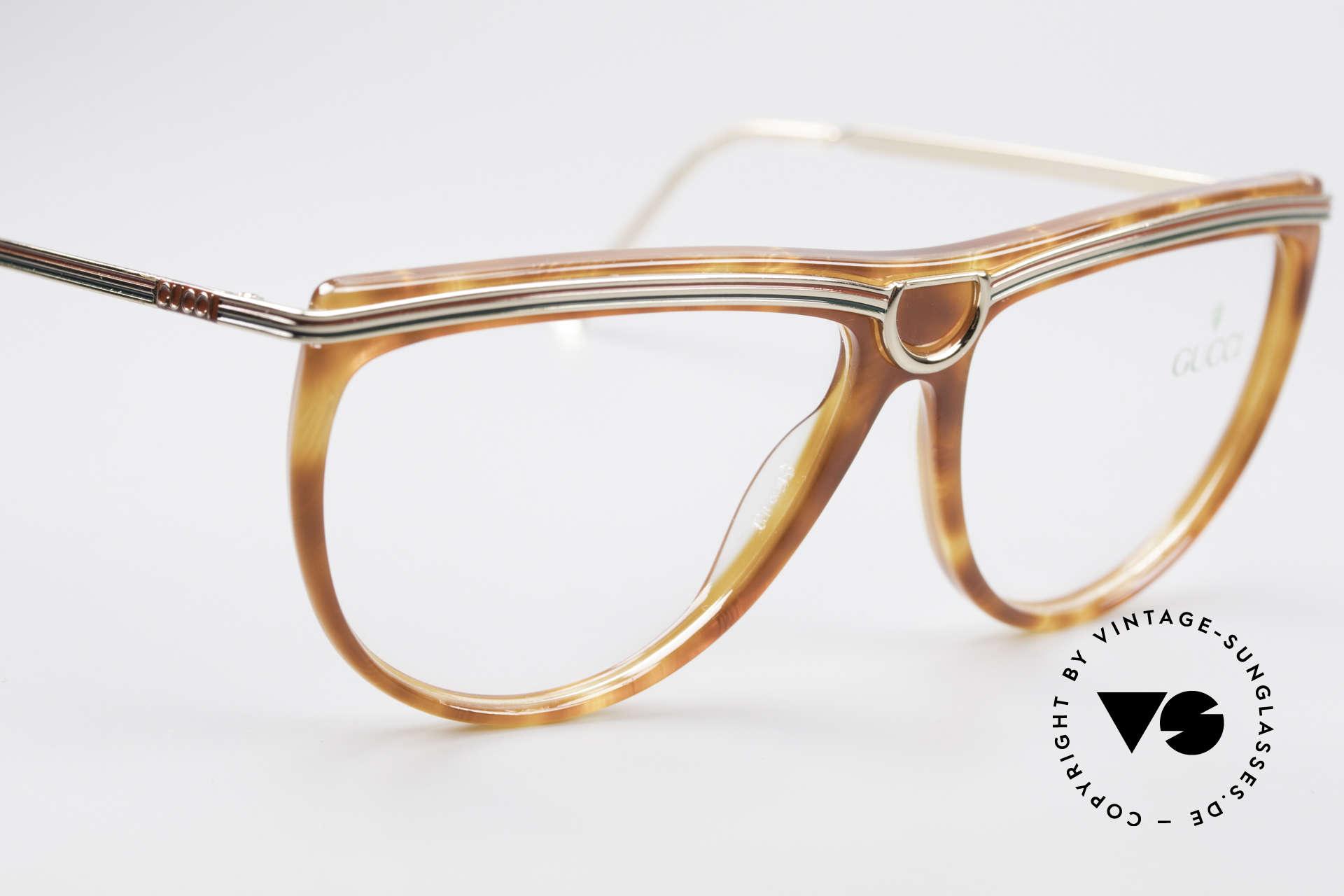 Gucci 2303 Vintage Damenbrille 80er, KEINE Retrobrille; ein altes einzigartiges Original, Passend für Damen