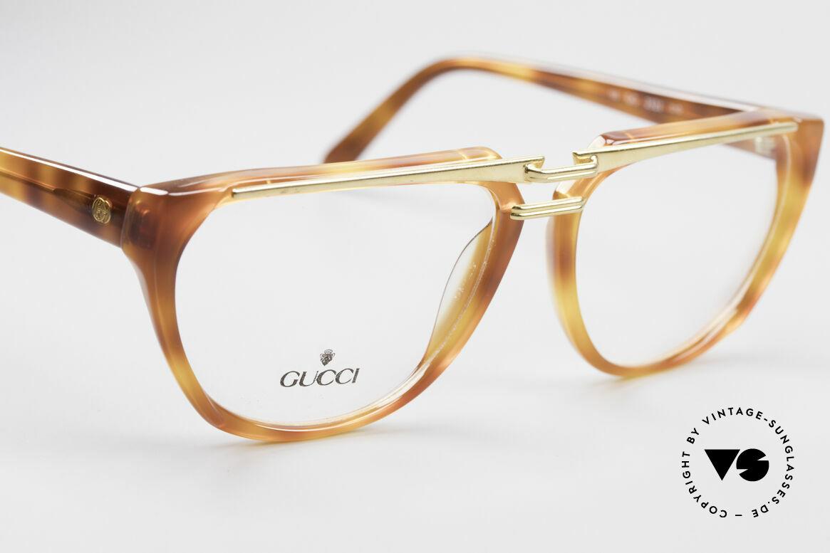 Gucci 2321 Designer Damenbrille 80er, KEINE RETRObrille, sondern echte 1980er Jahre Ware, Passend für Damen