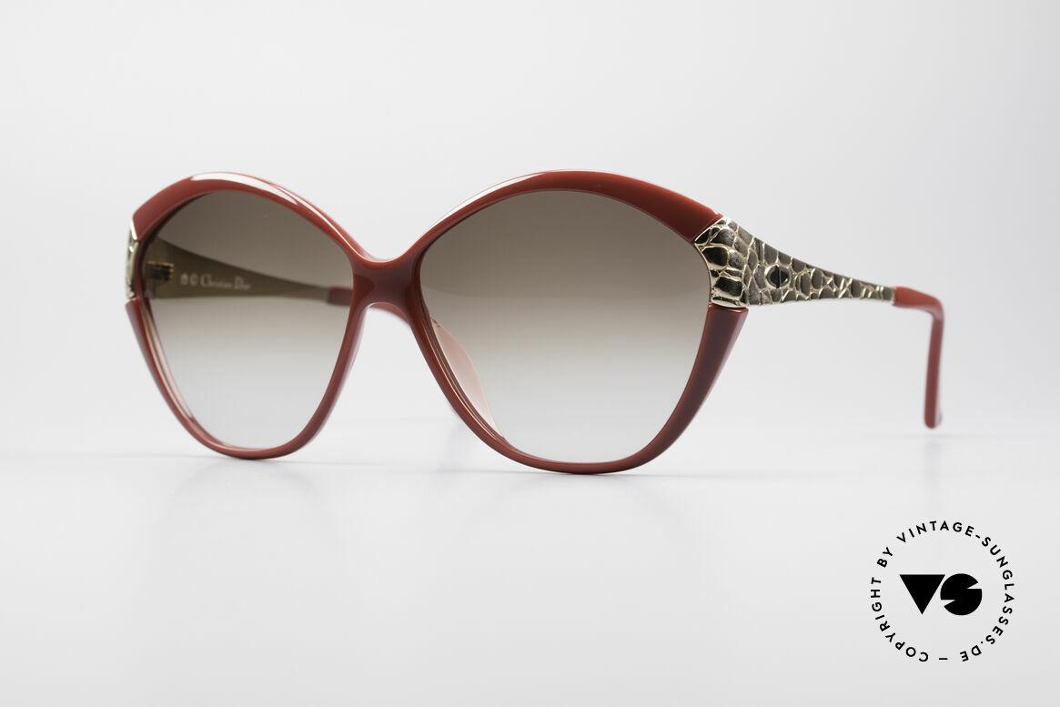 Christian Dior 2319 Damen Designersonnenbrille, vintage Oversize Sonnenbrille von Christian Dior, Passend für Damen