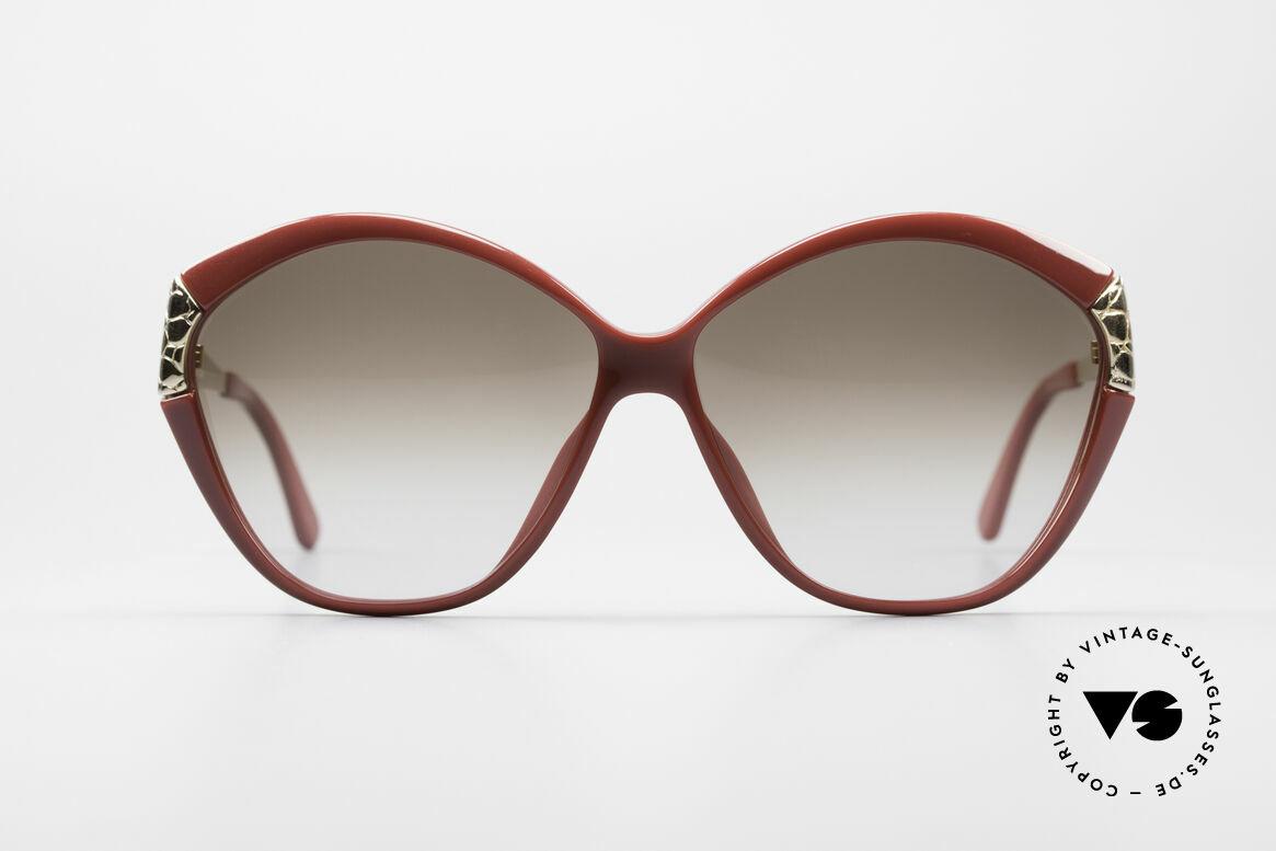 Christian Dior 2319 Damen Designersonnenbrille, klassisch, weibliches Design mit großen Gläsern, Passend für Damen