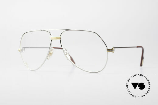 Cartier Vendome LC - L Platin Edition Luxusbrille Details