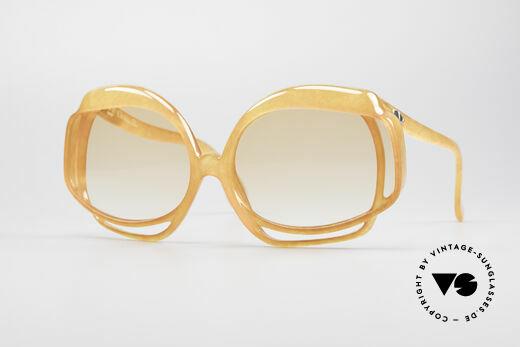 Christian Dior 2026 XXL 70er Sonnenbrille Details