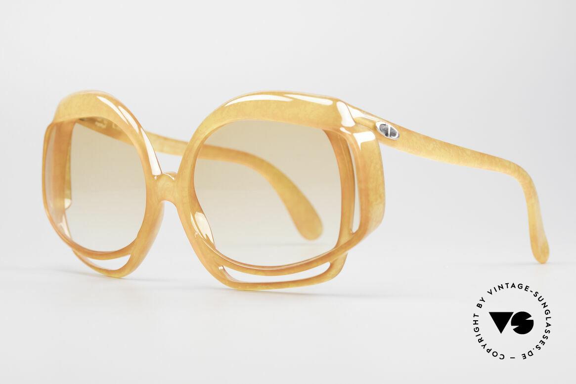 Christian Dior 2026 XXL 70er Sonnenbrille, sowas Exklusives sucht man sonst vergebens; eine Rarität!, Passend für Damen