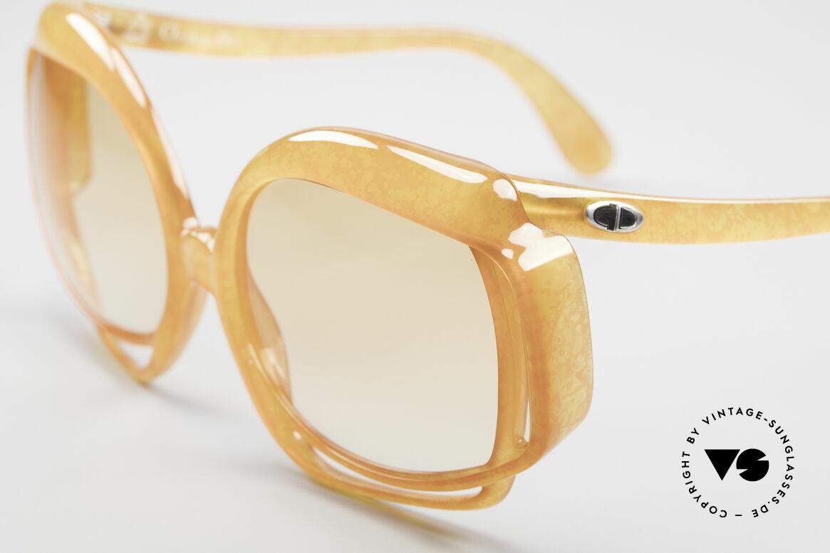 Christian Dior 2026 XXL 70er Sonnenbrille, ungetragen (wie alle unsere vintage DIOR Sonnenbrillen), Passend für Damen