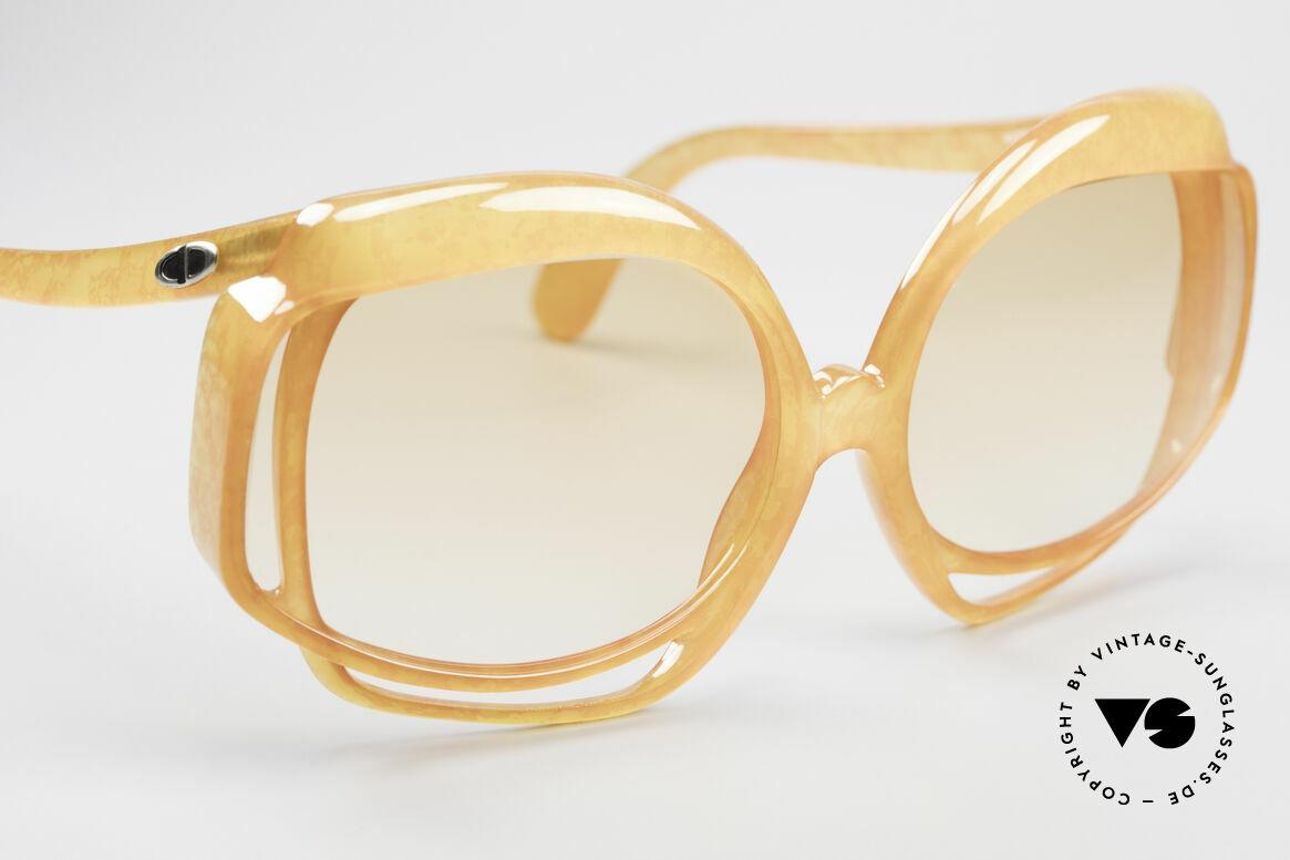 Christian Dior 2026 XXL 70er Sonnenbrille, KEINE Retromode, sondern ein altes ORIGINAL von 1975!, Passend für Damen