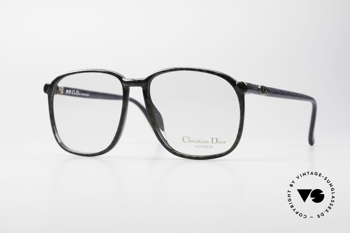 Christian Dior 2341 80er Optyl Monsieur Brille, VINTAGE Herrenbrille aus der DIOR Monsieur-Serie, Passend für Herren