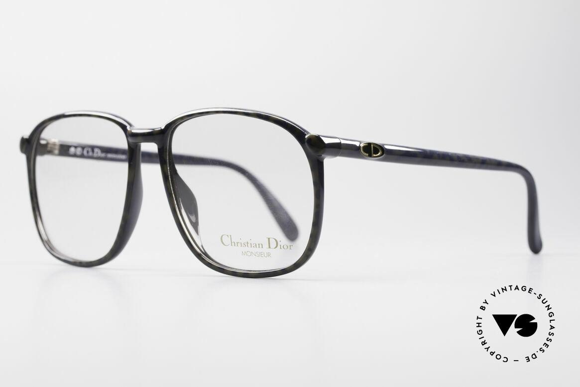 Christian Dior 2341 80er Optyl Monsieur Brille, unglaublich langlebiges und stabiles OPTYL-Material, Passend für Herren