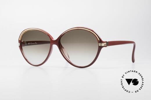 Christian Dior 2308 80er Damen Designer Brille Details