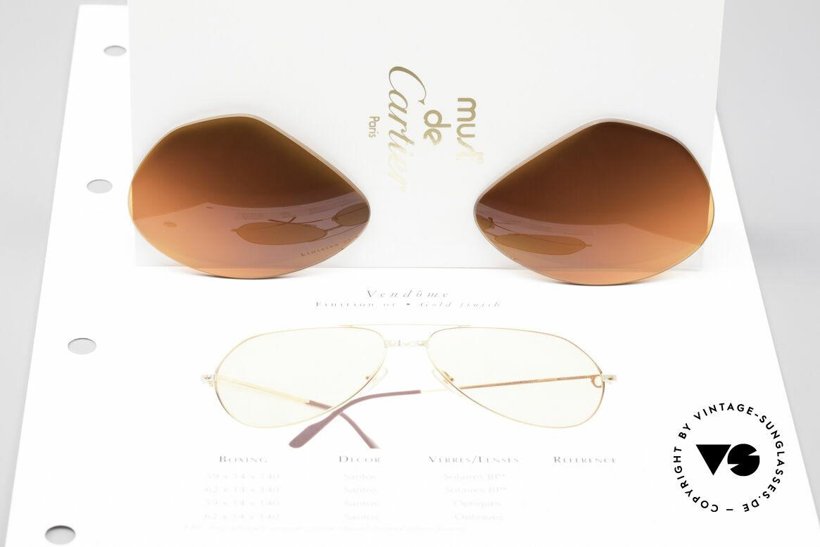 Cartier Vendome Lenses - L Sonnengläser Abendrot