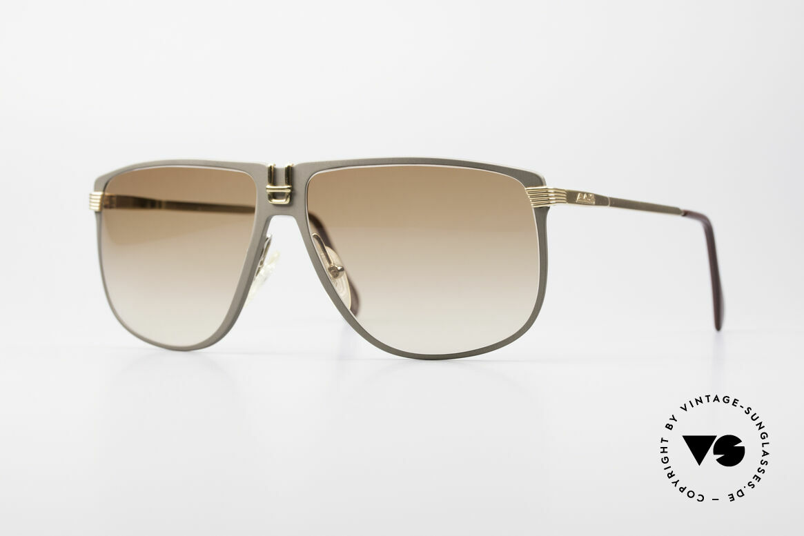 AVUS 210-30 West Germany Sonnenbrille, HANDMADE 1980er AVUS vintage Designer-Sonnenbrille, Passend für Herren