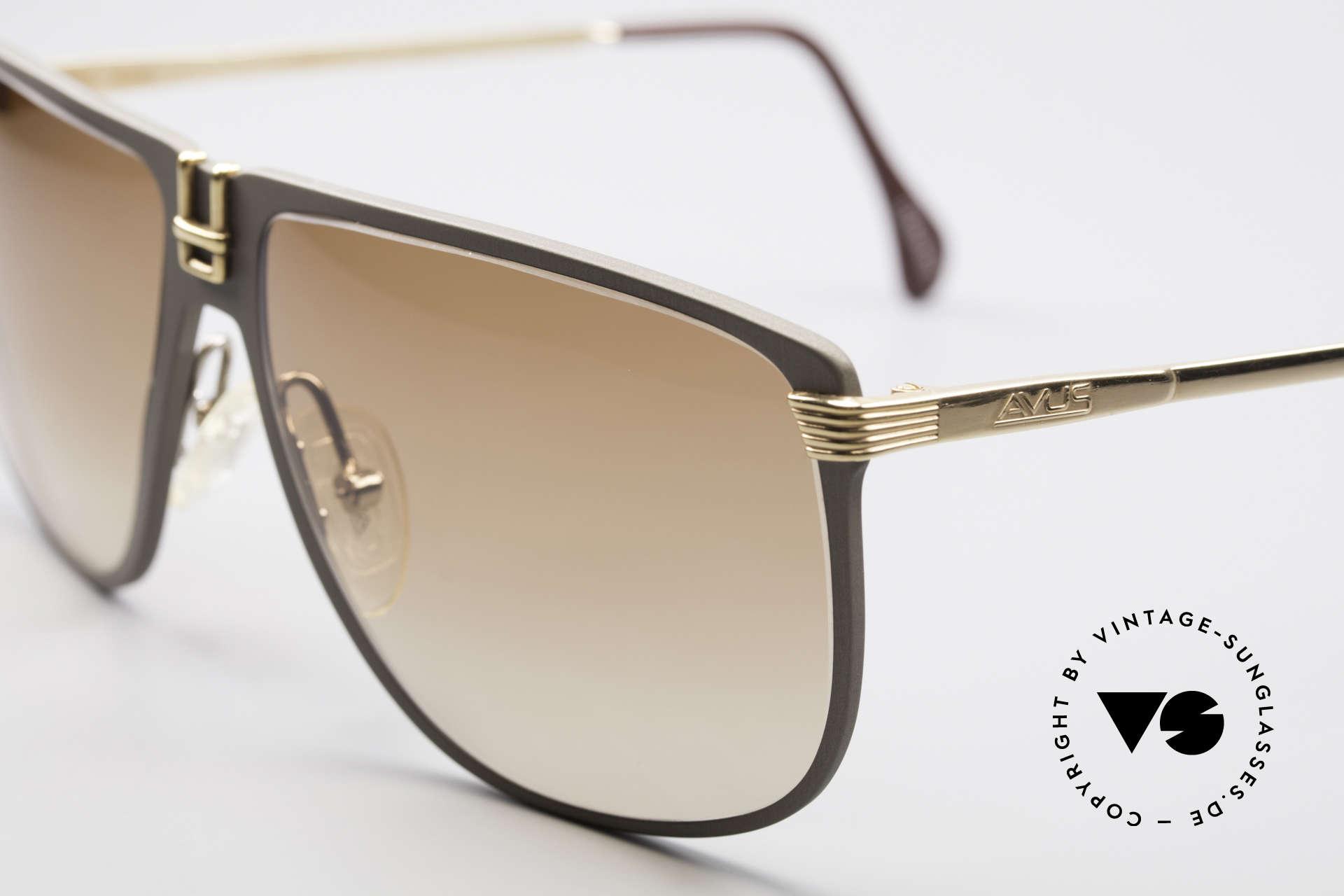 AVUS 210-30 West Germany Sonnenbrille, echte Kostbarkeit für Kenner und Qualitäts-Lieberhaber!, Passend für Herren
