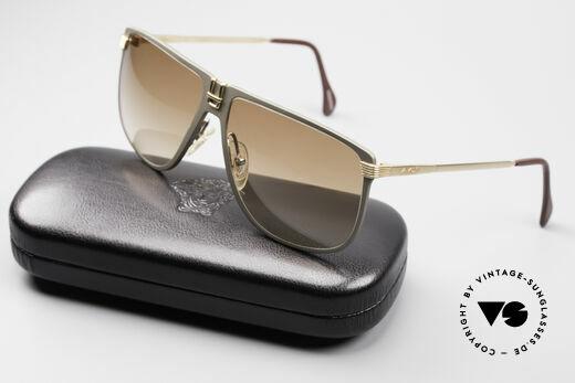 AVUS 210-30 West Germany Sonnenbrille, KEINE Retrobrille; sondern Original! (inkl. Versace Etui), Passend für Herren