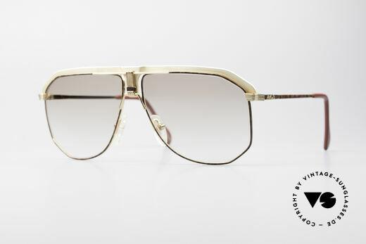 AVUS 2-130 Luxus Herren Sonnenbrille Details