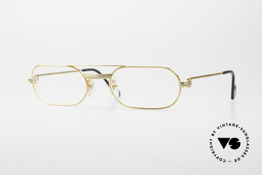 Cartier MUST LC Rose - M Limitierte Luxus Brille Details