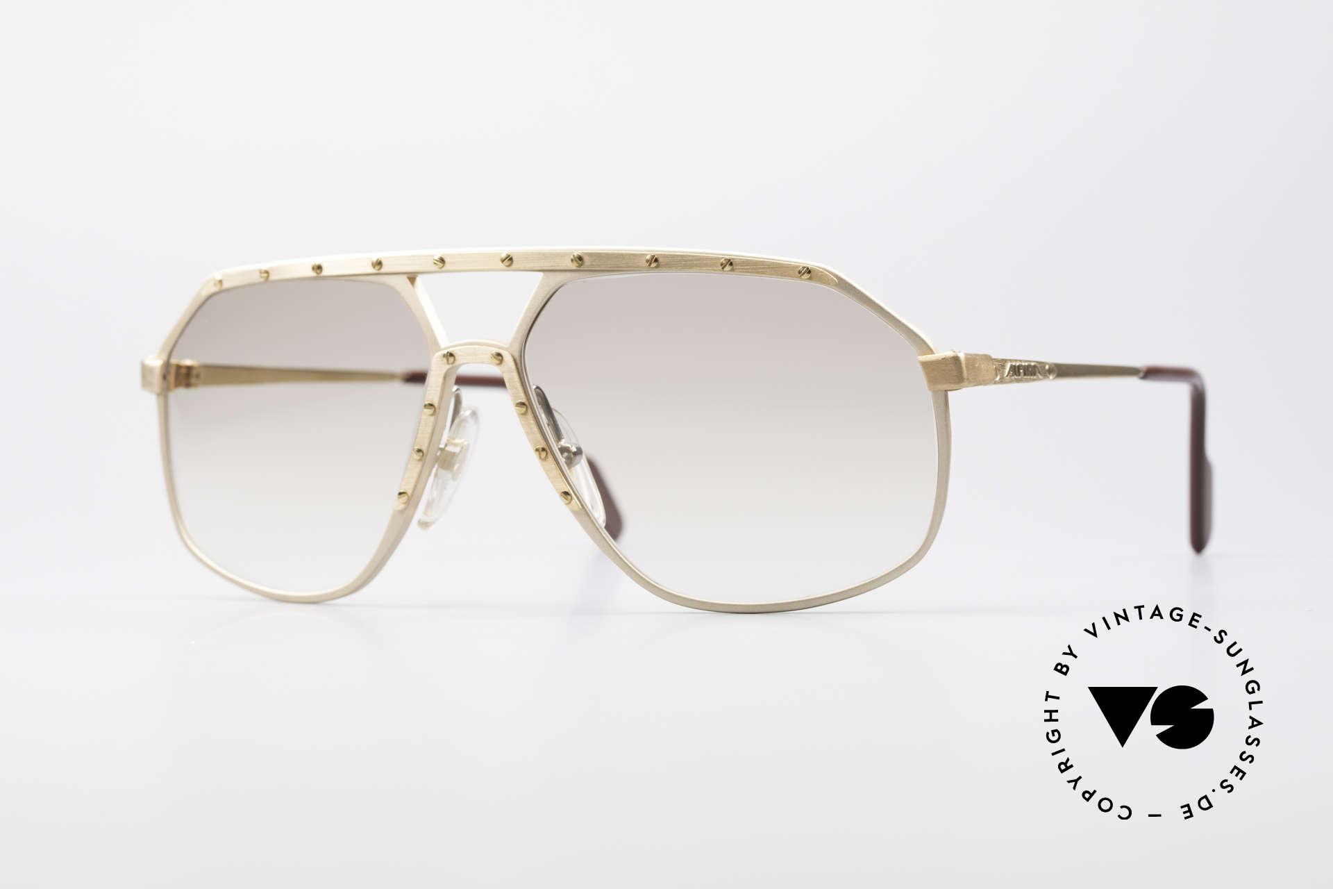 Alpina M6 Echte Alte 80er Vintage Brille, legendäre Alpina M6 vintage Designer-Sonnenbrille, Passend für Herren