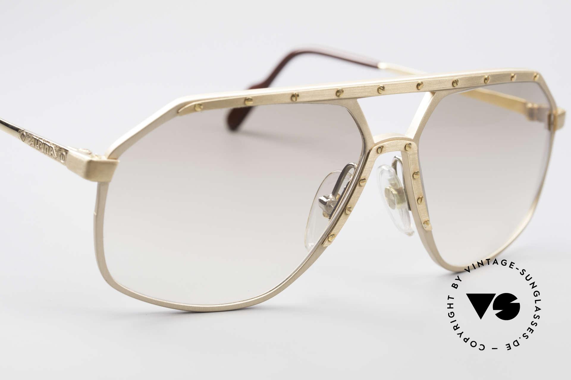 Alpina M6 Echte Alte 80er Vintage Brille, ungetragen (wie alle unsere Alpina Designerbrillen), Passend für Herren