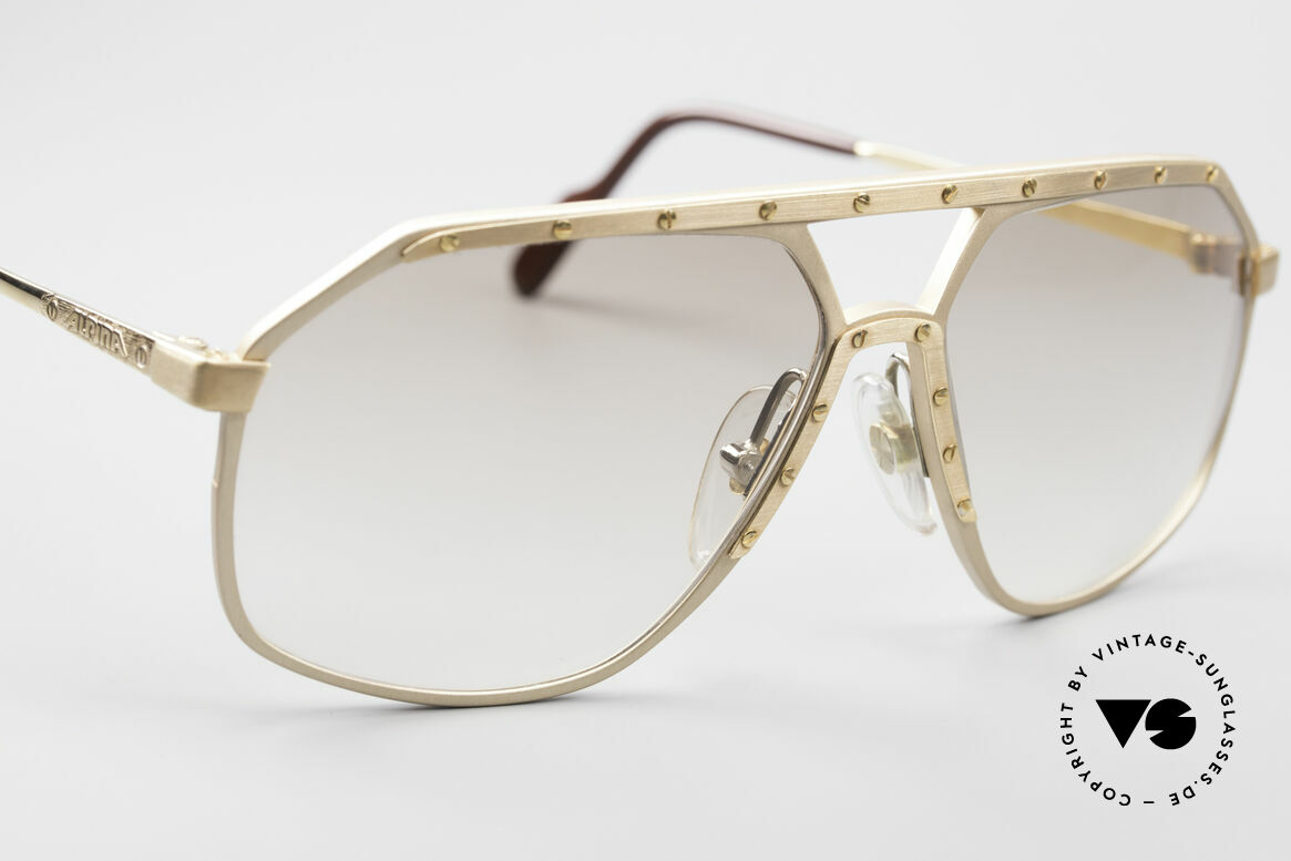 Alpina M6 Legendäre 80er Sonnenbrille, ungetragen (wie alle unsere Alpina Designerbrillen), Passend für Herren