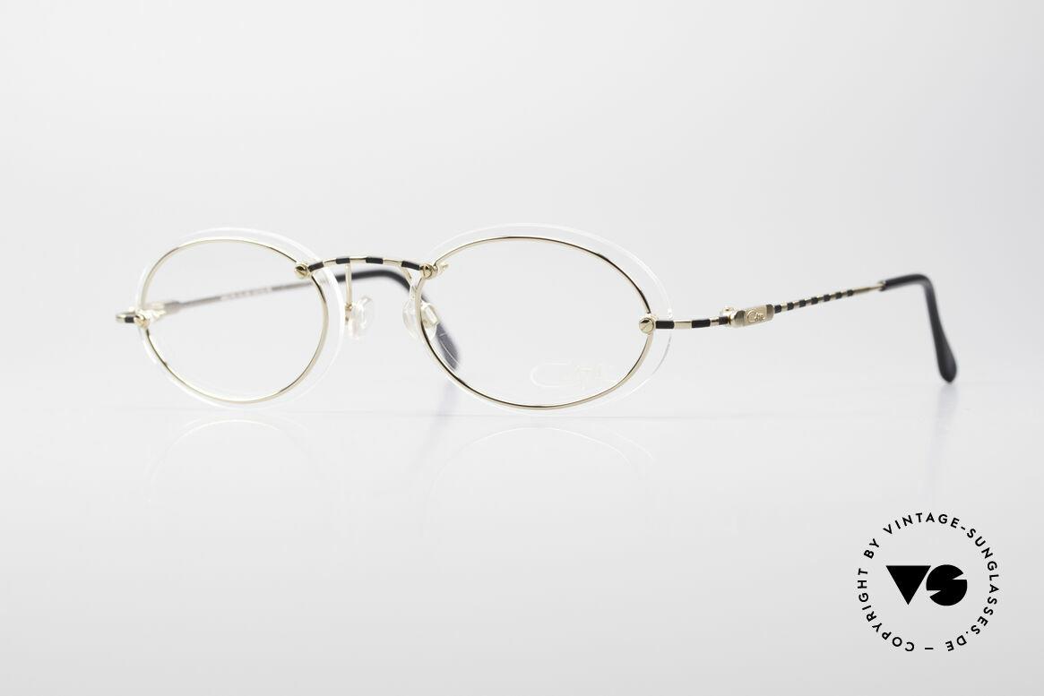 Cazal 770 90er Vintagebrille No Retro, filigrane Cazal vintage Brillenfassung von ca. 1998/99, Passend für Herren und Damen