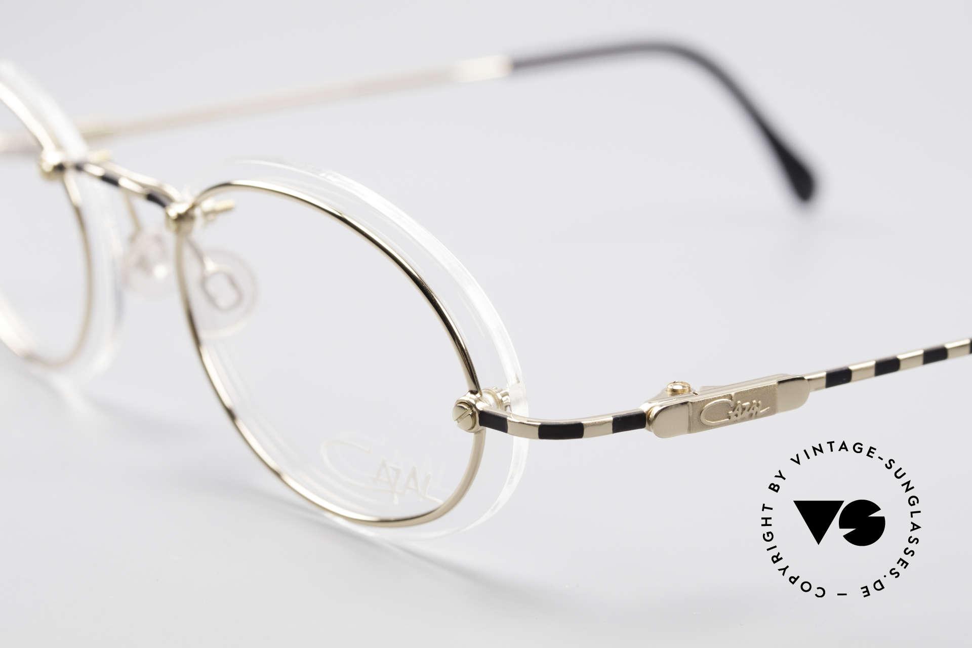 Cazal 770 90er Vintagebrille No Retro, ungetragen (wie alle unsere vintage Designklassiker), Passend für Herren und Damen
