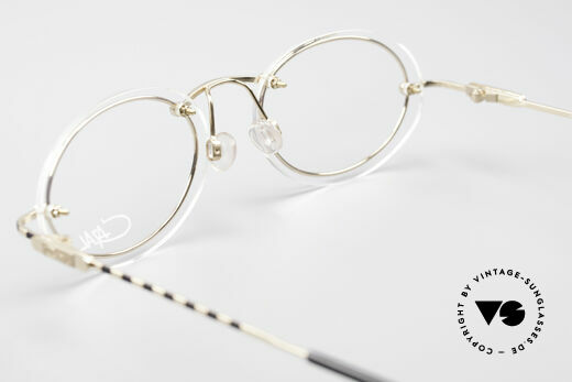 Cazal 770 90er Vintagebrille No Retro, die Fassung ist natürlich für optische Gläser gemacht, Passend für Herren und Damen