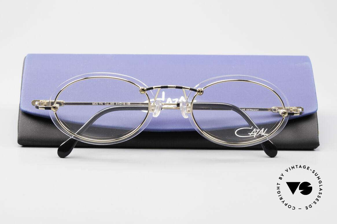 Cazal 770 90er Vintagebrille No Retro, Größe: medium, Passend für Herren und Damen
