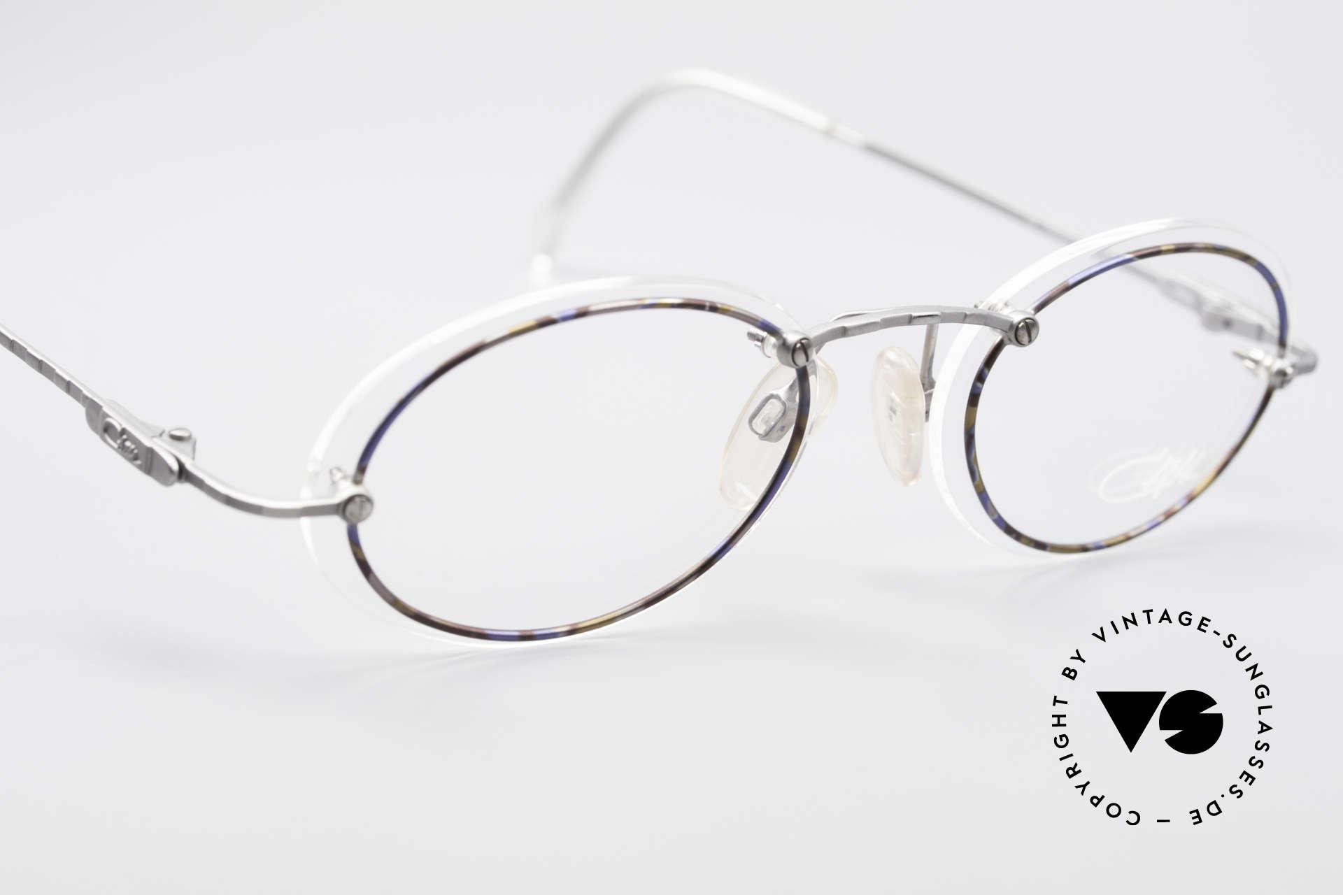 Cazal 770 Ovale Vintagebrille No Retro, KEINE Retrobrille, sondern ein echtes 90er ORIGINAL, Passend für Herren und Damen