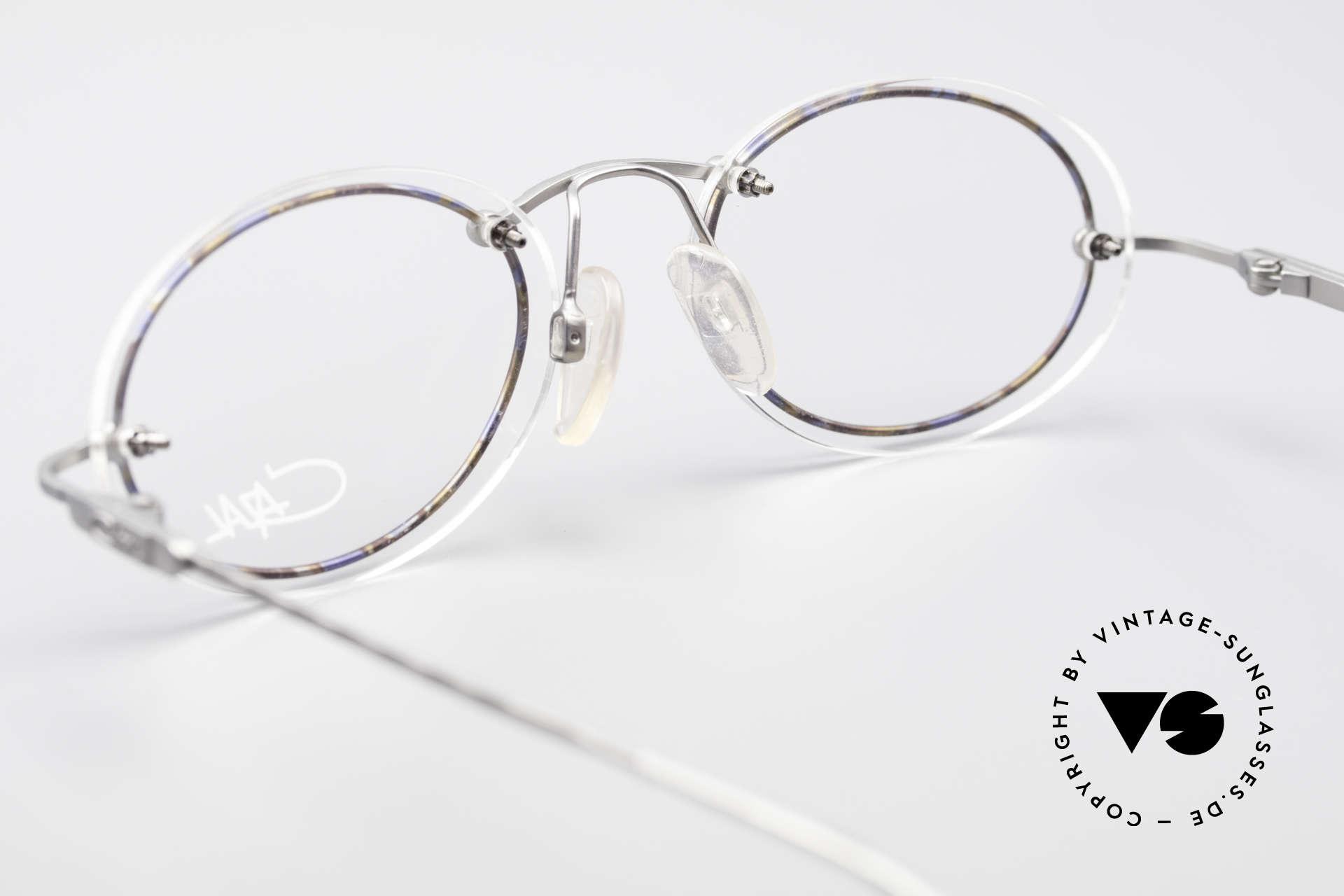 Cazal 770 Ovale Vintagebrille No Retro, die Fassung ist natürlich für optische Gläser gemacht, Passend für Herren und Damen