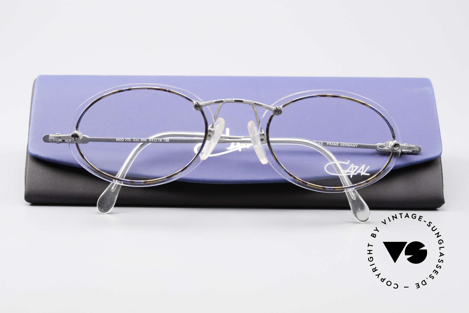 Cazal 770 Ovale Vintagebrille No Retro, Größe: medium, Passend für Herren und Damen