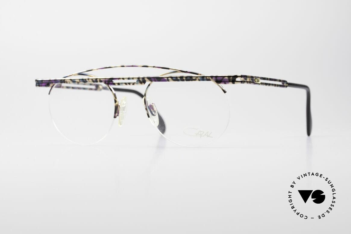 Cazal 748 Crazy Vintage No Retrobrille, interessantes Cazal vintage Brillengestell von 1997, Passend für Herren und Damen