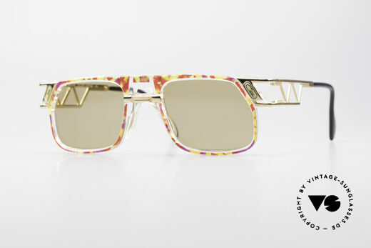 Cazal 876 90er Designer Sonnenbrille Details
