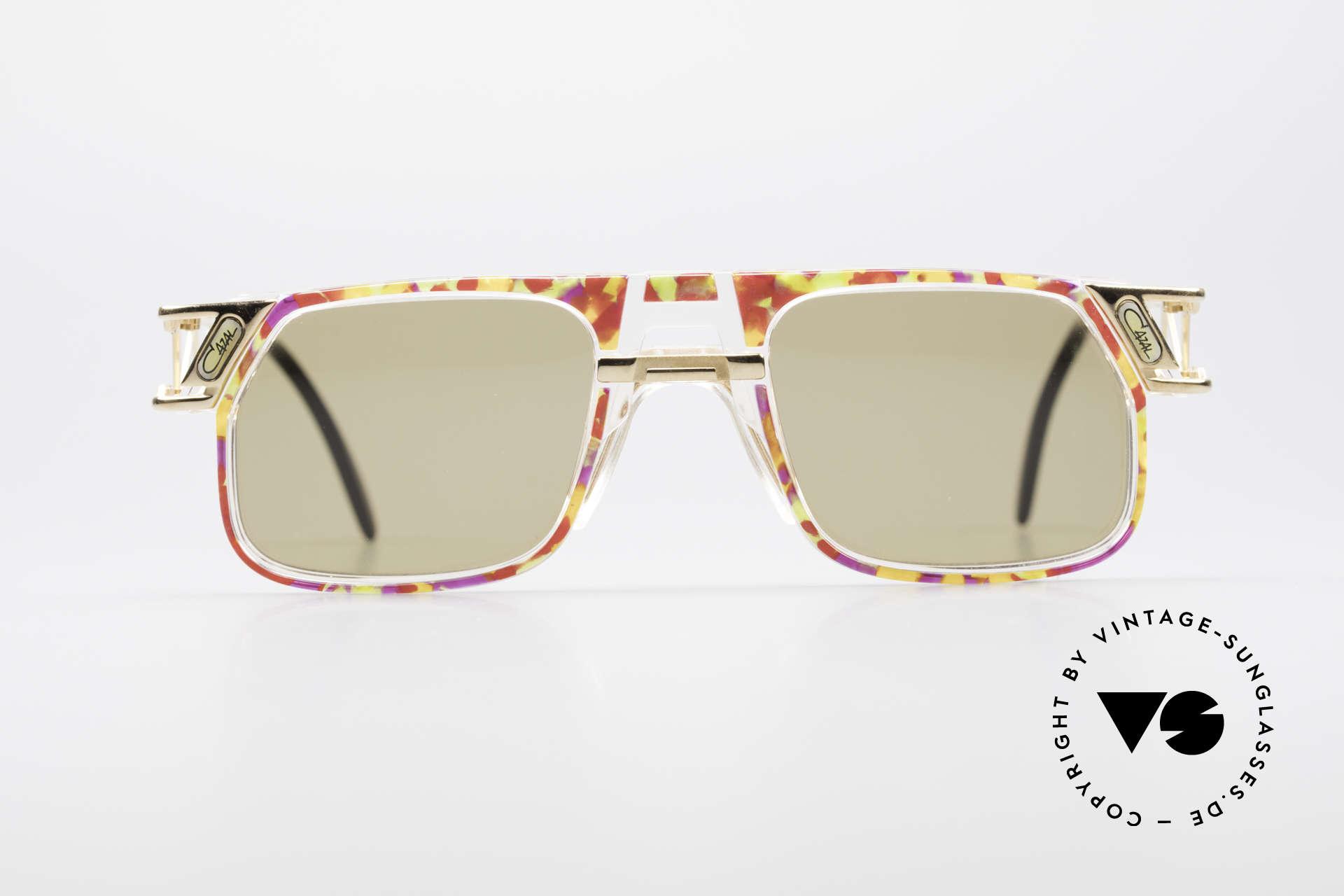 Cazal 876 90er Designer Sonnenbrille, vom Design-Papst Cari Zalloni (Mr. CAZAL) entworfen, Passend für Herren und Damen