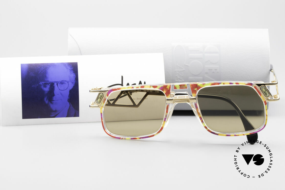 Cazal 876 90er Designer Sonnenbrille, Größe: large, Passend für Herren und Damen