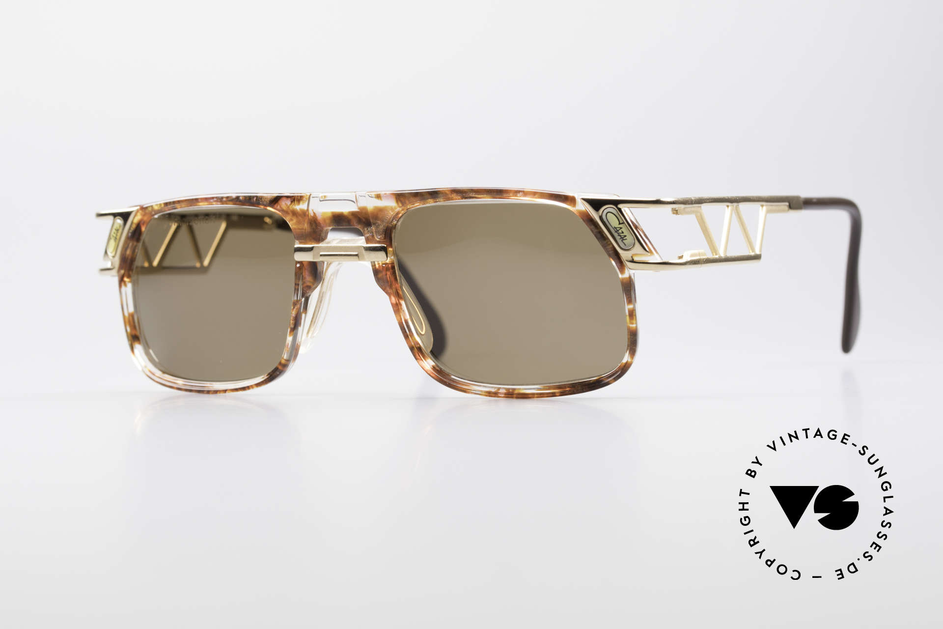 Cazal 876 Echt 90er No Retro Brille, flippige Cazal Designer-Sonnenbrille der frühen 1990er, Passend für Herren und Damen