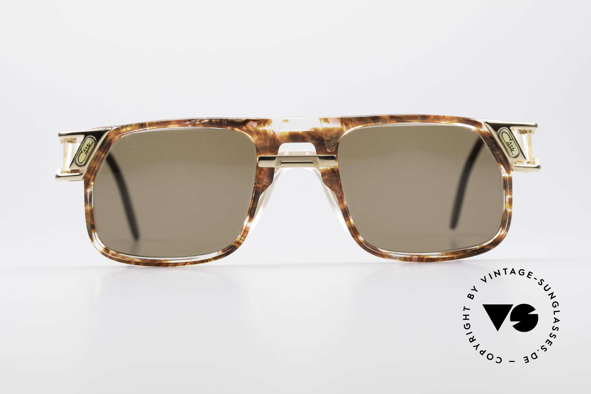 Cazal 876 Echt 90er No Retro Brille, vom Design-Papst Cari Zalloni (Mr. CAZAL) entworfen, Passend für Herren und Damen