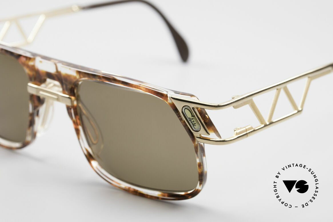 Cazal 876 Echt 90er No Retro Brille, original Cazal Gläser mit UV PROTECTION Markierung, Passend für Herren und Damen