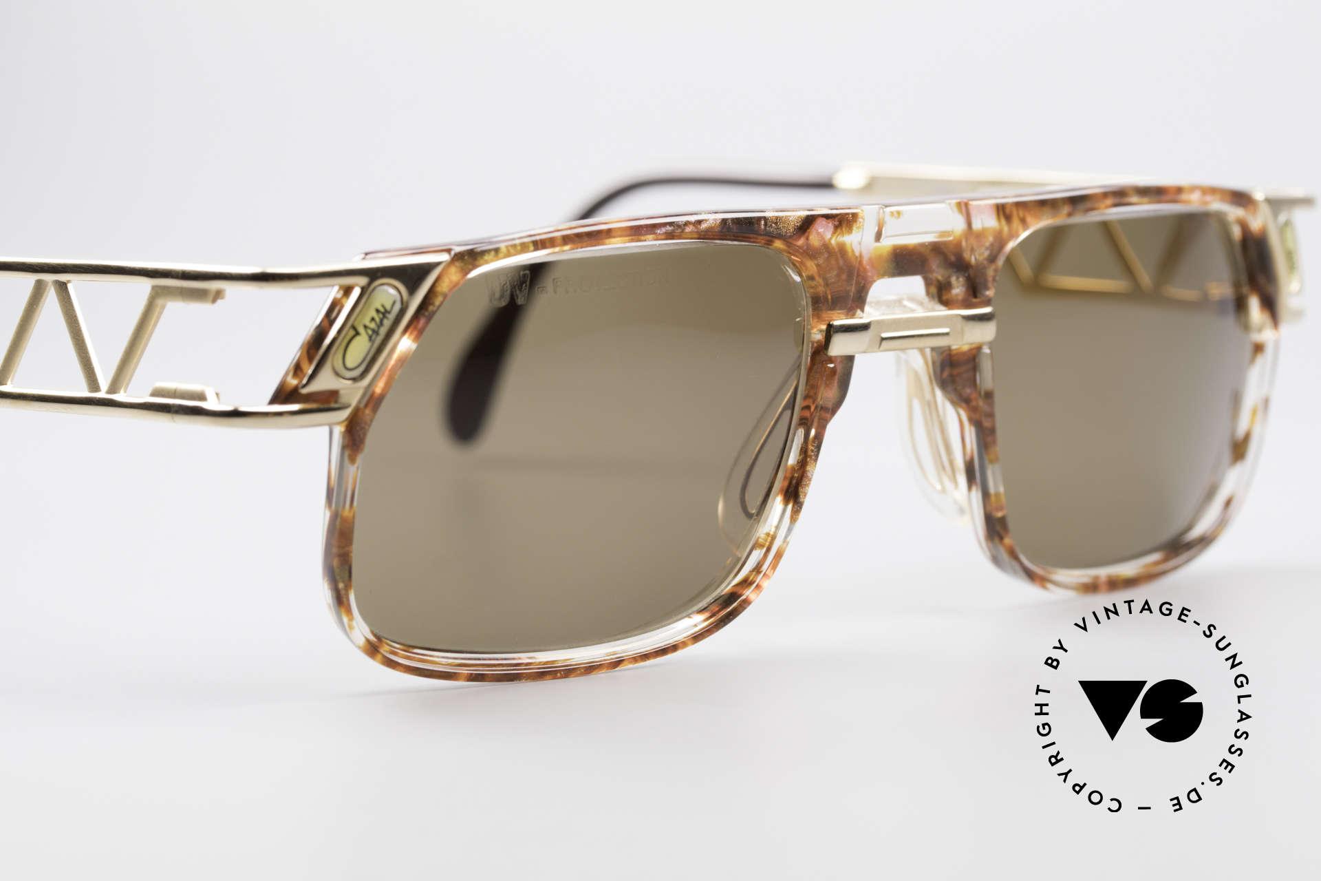 Cazal 876 Echt 90er No Retro Brille, ungetragen (wie alle unsere alten Cazal Designerbrillen), Passend für Herren und Damen