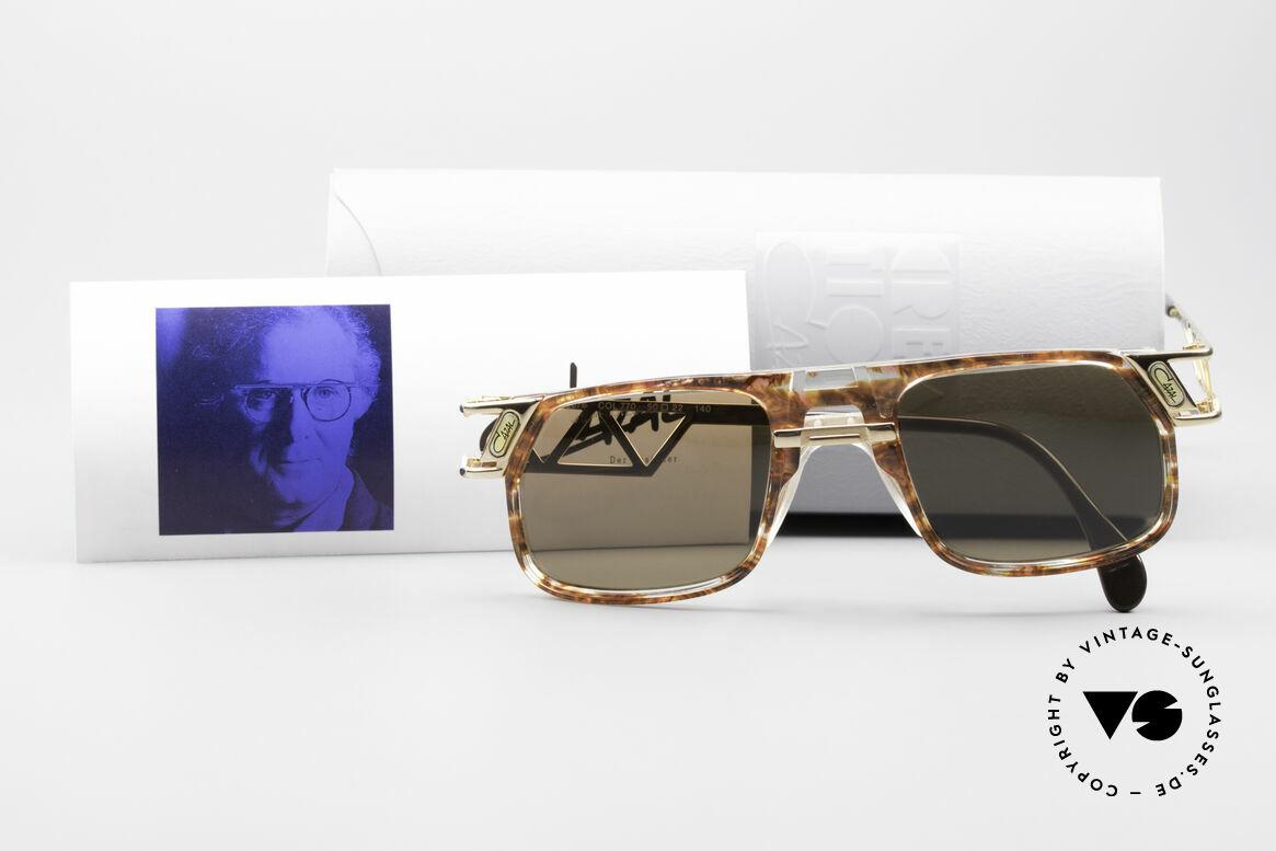 Cazal 876 Echt 90er No Retro Brille, Größe: large, Passend für Herren und Damen