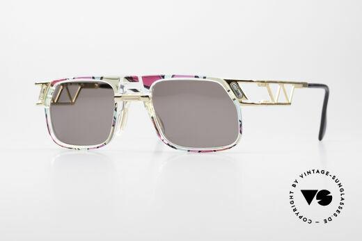 Cazal 876 90er No Retro Sonnenbrille Details