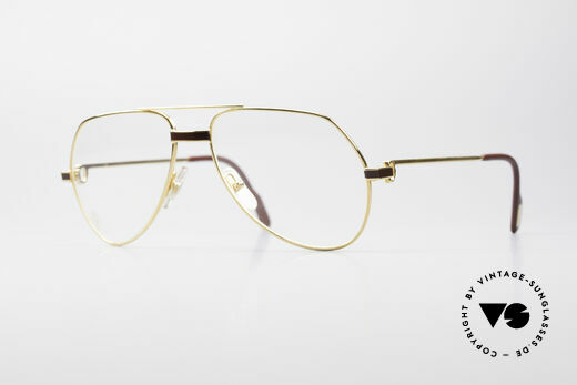 Cartier Vendome Laque - S Luxus Brillenfasssung Details